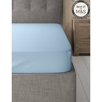 Comfortably Cool Cotton & Tencel Blend Fitted Sheet