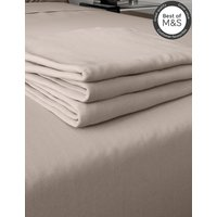 Comfortably Cool Cotton and Tencel Blend Flat Sheet
