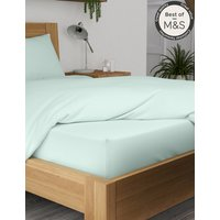 Comfortably Cool Cotton & Tencel Blend Deep Fitted Sheet