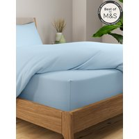 Comfortably Cool Cotton and Tencel Blend Extra Deep Fitted Sheet