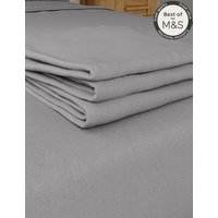 Pure Egyptian Cotton 230 Thread Count Flat Sheet with StayNEW