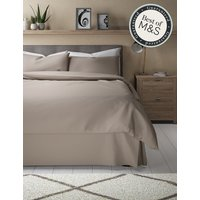 Pure Egyptian Cotton 230 Thread Count Valance Sheet with StayNEW
