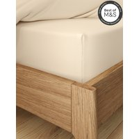 Non-Iron Pure Egyptian Cotton Deep Fitted Sheet