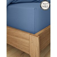Pure Egyptian Cotton 230 Thread Count Extra Deep Fitted Sheet with StayNEW
