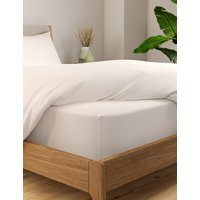 Cotton Rich Percale Extra Deep Fitted Sheet