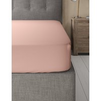 Cotton Rich Percale Deep Fitted Sheet