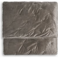 Velvet Quilted Bed Throw
