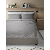 Pure Cotton Zig Zag Textured Bedding Set
