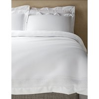 Autograph Lace Trim Bedding Set