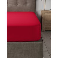 Brushed Cotton Deep Fitted Sheet