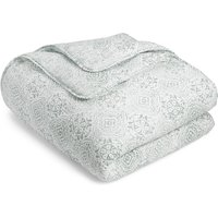 Matelass © Tile Print Quilted Throw