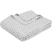 Contemporary Geometric Quilted Throw