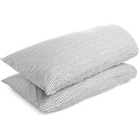 M&S Collection 2 Pack Ridley Printed Stripe Pillowcase