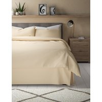 Pure Egyptian Cotton 400 Thread Count Valance Sheet