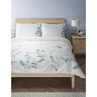 Botanical Embroidered Bedding Set