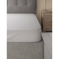 Pure Cotton Percale 300 Thread Count Fitted Sheet
