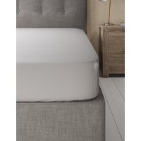 Pure Cotton Percale 300 Thread Count Deep Fitted Sheet
