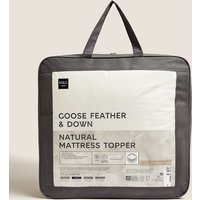 Goose Feather Down Mattress Topper