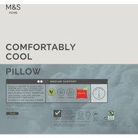 Comfortably Cool Medium Pillow