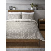 Large Scale Geometric Print Bedding Set