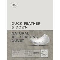 Duck Feather & Down All Seasons Duvet white