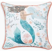 Mermaid Printed Cushion