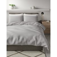 Cotton Textured Waffle Bedding Set