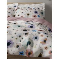 Pure Cotton Sateen Mae Floral Printed Bedding Set