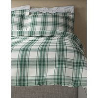 Austin Check Brushed Cotton Bedding Set