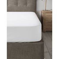 Dreamskin® Pure Cotton Deep Fitted Sheet white