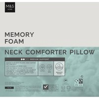 Memory Foam Neck Comforter Pillow