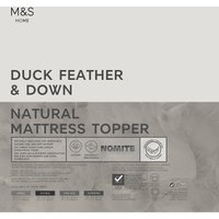Duck Feather and Down Mattress Enhancer
