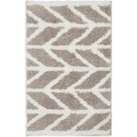 Quick Dry Super Soft Modern Geometric Bath mat