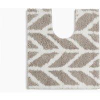 Quick Dry Modern Geometric Pedestal Mat