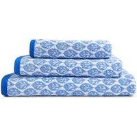 Lightweight Leaf Print Towel