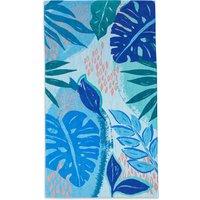 Abstract Leaf Beach Towel