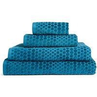 Textured Cotton Spot Towel