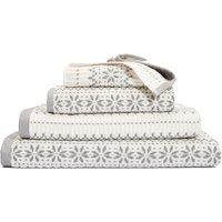 Cotton Scandinavian Woven Towel