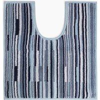 Pure Cotton Striped Pedestal Mat