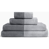 Pure Cotton Grid Towel with StayNEW