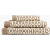 Cotton Diamond Jacquard Towel