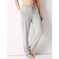 M&S Collection Cosy Knit Cuff Pyjama Bottoms