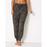 M&S Collection Cosy Animal Print Lounge Pant