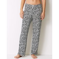 M&S Collection Animal Print Long Pant Pyjama Bottoms