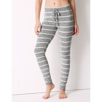 M&S Collection Striped Long Pant Pyjama Bottoms