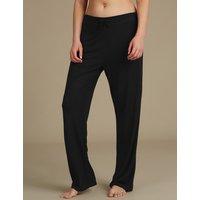 M&S Collection Straight Leg Pyjama Bottoms