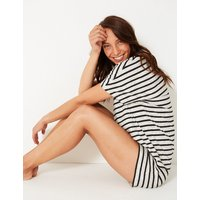 M&S Collection Cotton Rich Striped Pyjama Sets