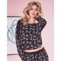 Rosie for Autograph Floral Print Long Sleeve Pyjama Top