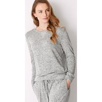 M&S Collection Cosy Knit Long Sleeve Pyjama Top