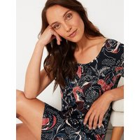 M&S Collection Printed Short Nightdress